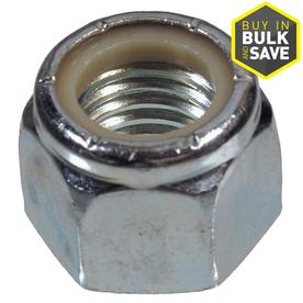 The Hillman Group 1/4-in Zinc-Plated Standard (Sae) Nylon Insert Lock Nut