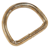 The Hillman Group 10-Pack 1-1/8-in Steel D-Rings