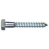 The Hillman Group 10-Count  1/4-in x 1-in Zinc-Plated Steel Lag Bolts