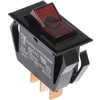 The Hillman Group 3-Piece 15-Amp Black Double Pole Light Switches