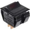 The Hillman Group 2-Piece 15-Amp Black Double Pole Light Switches