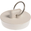The Hillman Group White Pop-Up Drain Stopper