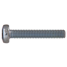 The Hillman Group 15-Count 4-mm-0.7 x 70-mm Pan-Head Zinc-Plated Metric Machine Screws