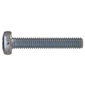 The Hillman Group 10-Count 6-mm-1.0 x 45-mm Pan-Head Zinc-Plated Metric Machine Screws