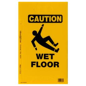 The Hillman Group 20-in x 12-in Caution Wet Floor Sign