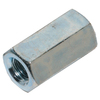The Hillman Group 50-Count 1/4-in Zinc-Plated Standard (SAE) Regular Nuts