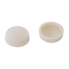 The Hillman Group 1/2-in x 1/8-in Cream Plastic End Cap