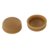 The Hillman Group 1/2-in x 1/8-in Tan Plastic End Cap