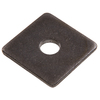 The Hillman Group 50-Count 7/8-in Plain Steel Standard (SAE) Square Washers
