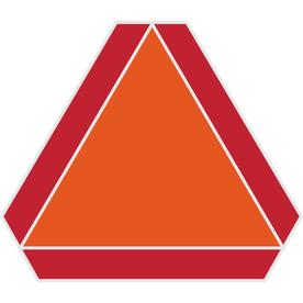 The Hillman Group 16-in x 14-in Slow Moving Vehicle Sign