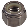 The Hillman Group 2-Count 1-in Stainless Steel Standard (SAE) Nylon Insert Lock Nuts
