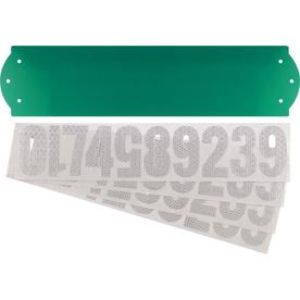 The Hillman Group 4.5-in x 18-in Address Kit Sign