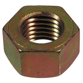 The Hillman Group 3/4-in-10 Yellow Zinc Standard (SAE) Hex Nut