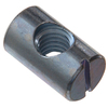 The Hillman Group 1/4 x 3/4 Plain Steel Standard (SAE) Barrel Nut