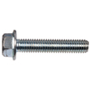 The Hillman Group 2-Count 1/4-in x 1-in Zinc-Plated Standard (SAE) Serrated Flange Hex Flange Bolts