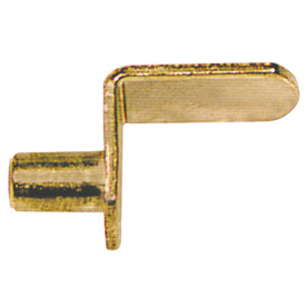 The Hillman Group 1/4&#034; Brass L Shape Shelf Pins