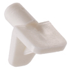 The Hillman Group 2-Pack 5 mm White Square Shelf Pins