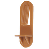 The Hillman Group 2-Pack 5/16-in Tan Square Shelf Pins