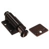 The Hillman Group Single Black Magnetic Cabinet Latch