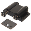 The Hillman Group Double Black Magnetic Cabinet Latch