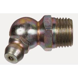 The Hillman Group 45-Degree Button Head Parallel Grease Fitting