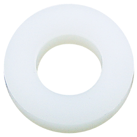 The Hillman Group 10-Count 3/8-in x 1-1/4-in Nylon Standard (SAE) Flat Washers