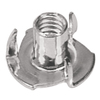 The Hillman Group 3/8-in-16 Stainless Steel Standard (SAE) 3-Prong Tee Nut