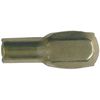 The Hillman Group 8-Pack 5 mm Brass Half Round Shelf Pins