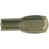 The Hillman Group 2-Pack 5 mm Brass Half Round Shelf Pins