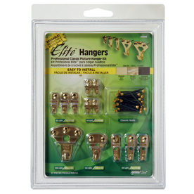 The Hillman Group Classic Picture Hanger Value Kit
