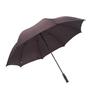 The Hillman Group 30-3/4-in Black Plain Manual Golf Umbrella