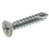 The Hillman Group 15-Count #9 x 1.5-in Flat-Head White Interior/Exterior Wood Screws