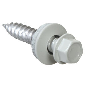 The Hillman Group 2000-Count #10 x 2-in Hex Washer-Head Coated Hex-Drive Deck Screws