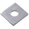 "The Hillman Group 2"" x 2"" Hot Dip Galvanized Slotted Bearing Plate  5/8"""