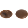 The Hillman Group 10-in x 3/8-in Brown Plastic End Cap