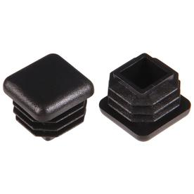The Hillman Group 2-Pack 3/4-in Black Plastic Inside Furniture Tips