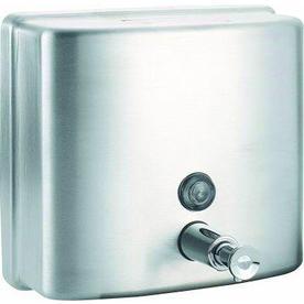 PSISC Satin Pump Commercial Soap Dispenser