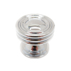 allen + roth 1-1/4-in Polished Chrome Round Cabinet Knob