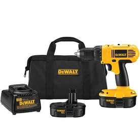 DEWALT 18-Volt 1/2-in Cordless Nickel Cadmium (NiCd) Drill/Driver Kit DC970K-2