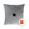 allen + roth 18-in W x 18-in L Pale Blue Square Accent Pillow Cover