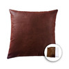 allen + roth 18-in W x 18-in L Brown Square Accent Pillow Cover