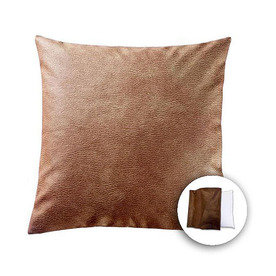 allen + roth 18-in W x 18-in L Tan Square Indoor Decorative Pillow Cover