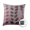 allen + roth 18-in W x 18-in L Purple Square Accent Pillow Cover
