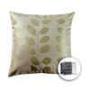allen + roth 18-in W x 18-in L Green Square Accent Pillow Cover