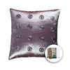 allen + roth 18-in W x 18-in L Oat Square Accent Pillow Cover