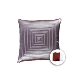 allen + roth 18-in W x 18-in L Spa Blue Square Accent Pillow Cover