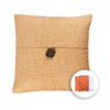 allen + roth 18-in W x 18-in L Wheat Square Accent Pillow Cover