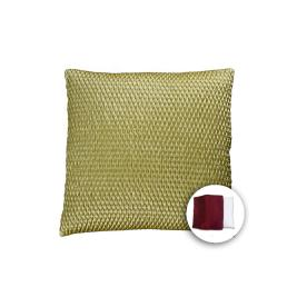 allen + roth 18-in W x 18-in L Olive Square Accent Pillow Cover
