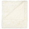 214 west Creme 50-in L x 60-in W Polyester Throw