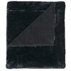 214 west Black 50-in L x 60-in W Polyester Throw